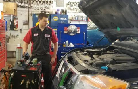 BG Transmission Fluid Exchange